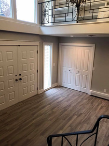entryway after remodel