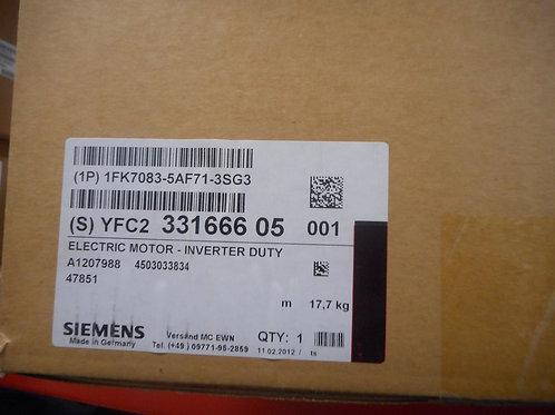 Siemens 1FK7083-5AF71-3SG3 - Servo motor 600V