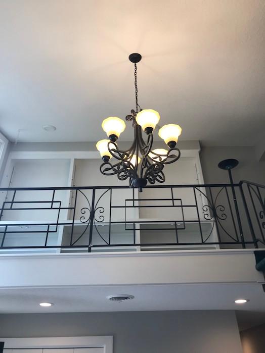 entryway remodel ceiling
