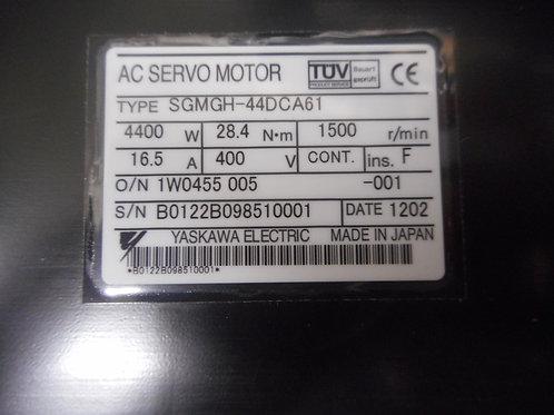 Yaskawa SGMGH-44ADA61 – Servo Motor 4400W, 16.5 AMPS,  400V