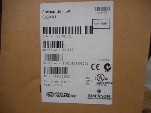 Control Techniques SK2401 – Drive 7.5HP, 480V, 13A