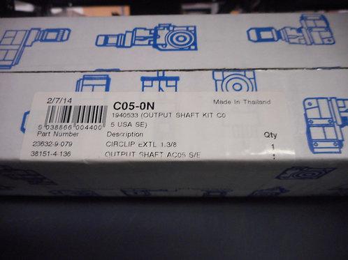 Radicon C05-0N Size C05 Output Shaft Kit