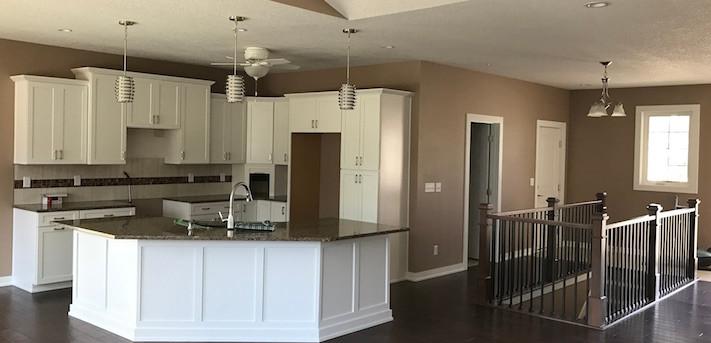J & G Builders new kitchen