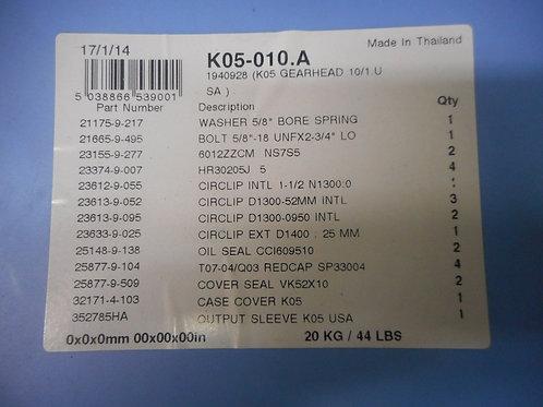 Radicon K05-010.A – Gearhead Size 5