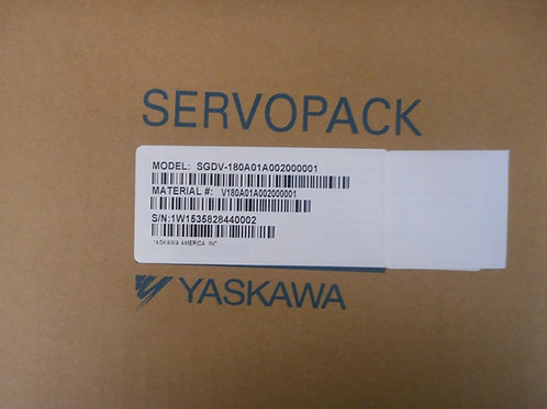 Yaskawa SGDV-180A01A002000001 - S5 AMP 2.0KW 200V A/P VN