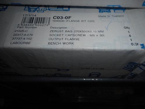 Radicon C03-0F Size C03 Flange Kit
