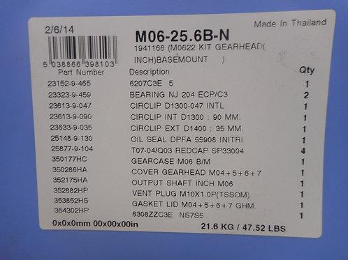Radicon M06-25.6B-N - Gearhead SIZE 6