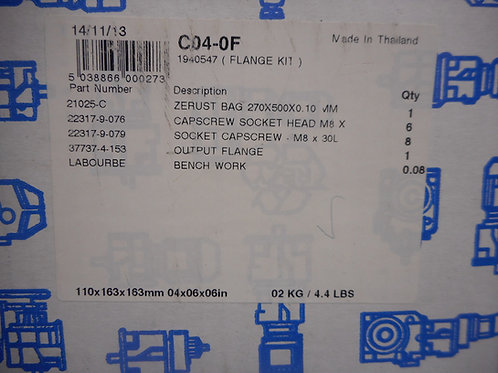 Radicon C04-0F Size C04 Flange Kit