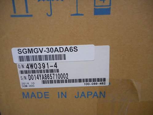 Yaskawa SGMGV-30ADA6S - Servo Motor 23.8 AMPS,200V