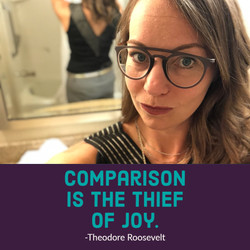 comparison is the theif
