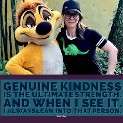 genuine kindness