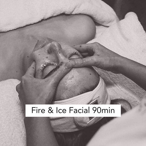 Fire & Ice Signature facial 90mins