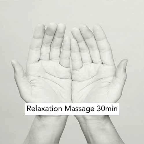 30min Relaxation massage