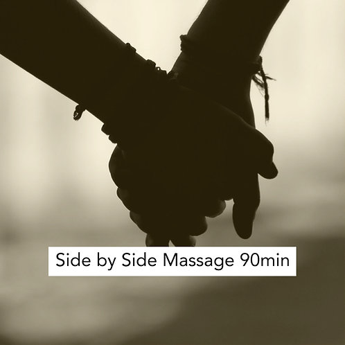 90min Side by Side Massage