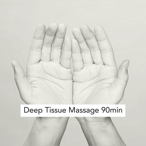 Deep Tissue Massage 90min