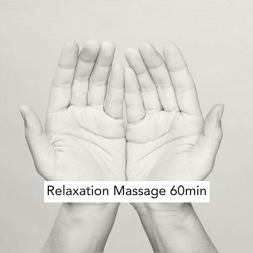 60min Relaxation Massage