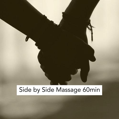 60min Side by Side Massage