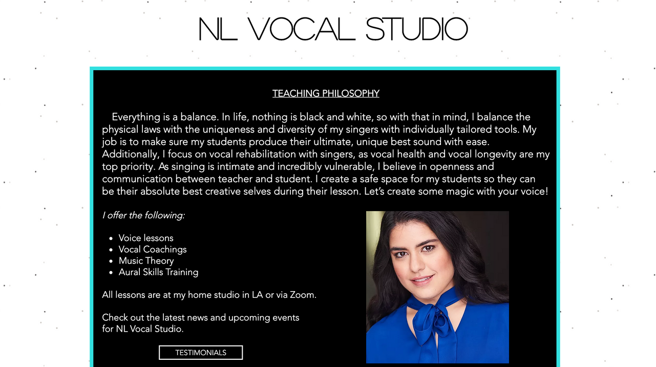 NL Vocal Studio