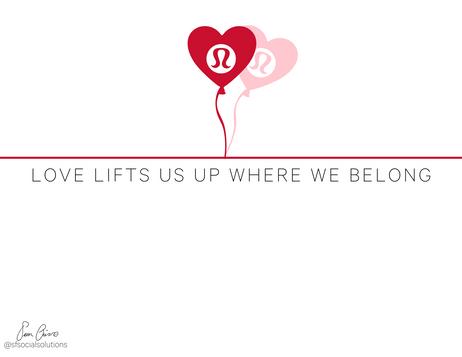 Lululemon Valentines Day