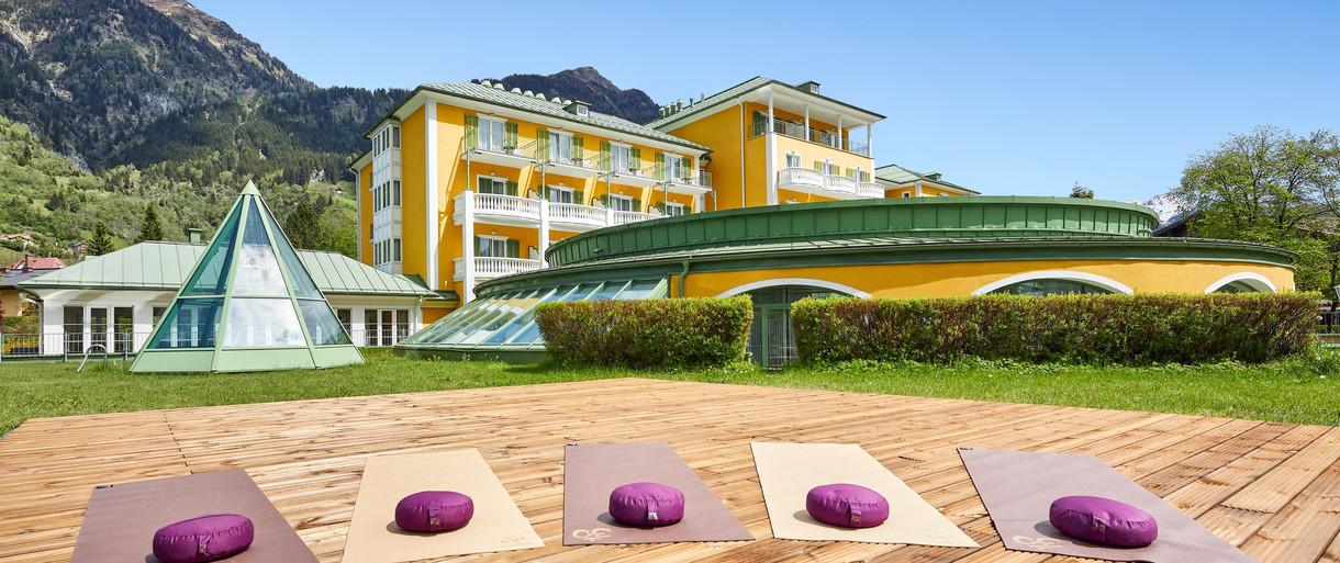 Alpenhaus Yoga Outdoor