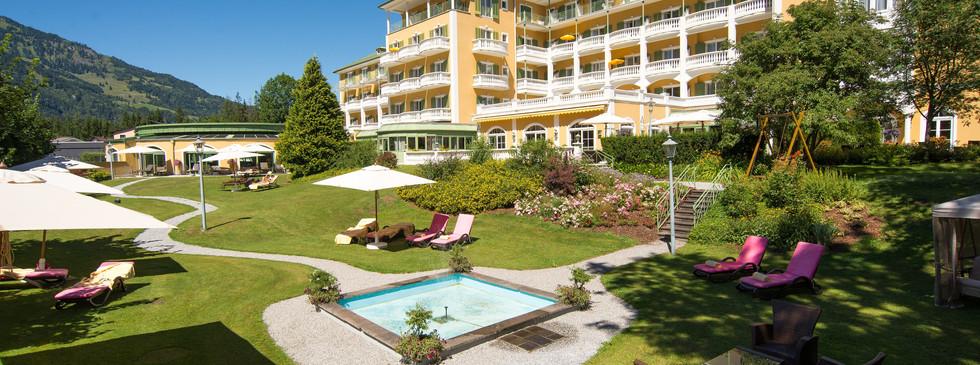 Das Hotel: Alpenhaus