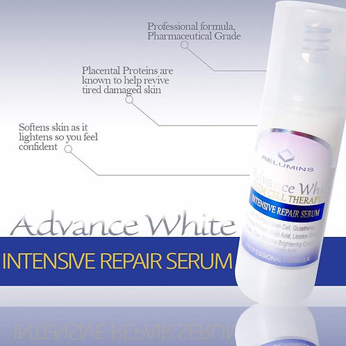 RELUMINS ADVANCE WHITE STEM CELL THERAPHY INTENSIVE REPAIR  SERUM