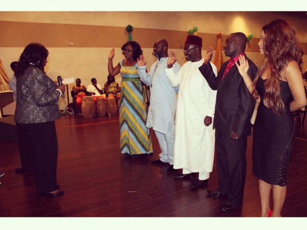 Swearing In Of Ambassadors