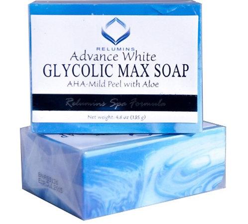 RELUMINS  GLYCOLIC  MAX  SOAP