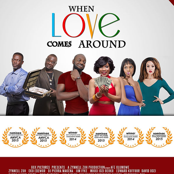 When Love Comes Around Movie produced by Zynnell Zuh