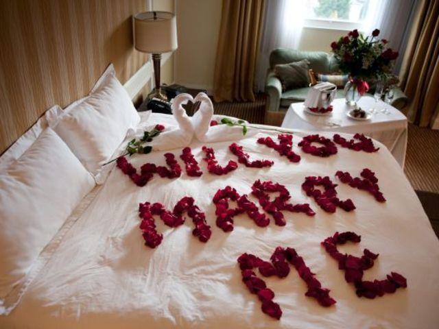 Bedroom Proposal