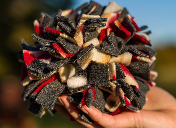 """Snuffle Ball"" A Toy or Training Device for your Dog"