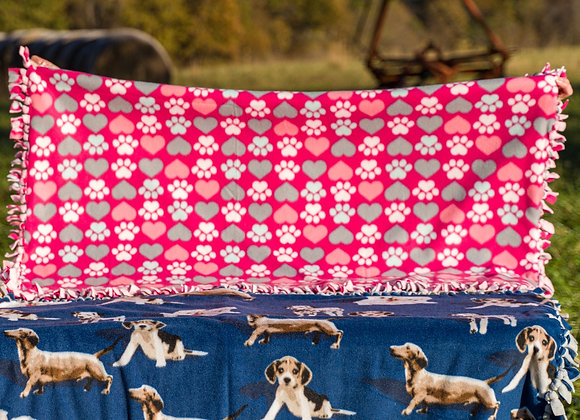 Large Hand Tied Blanket
