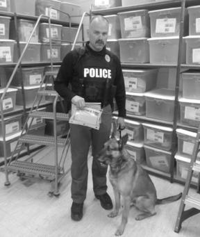 Officer Walthall and K9 Takoa