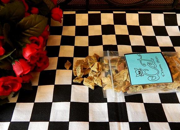 Cat Crumpets Catnip 1 1/2 oz bag of Cat Treats