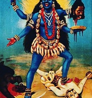 The Divine Masculine is NOT Kali's submissive