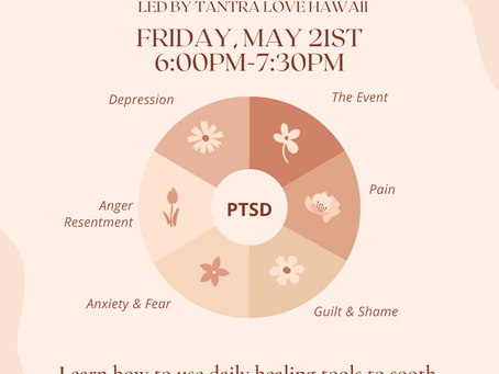 EVENT FRI 5/21: Healing Trauma with Spiritual Tools workshop at Hex and Rue Downtown HNL!