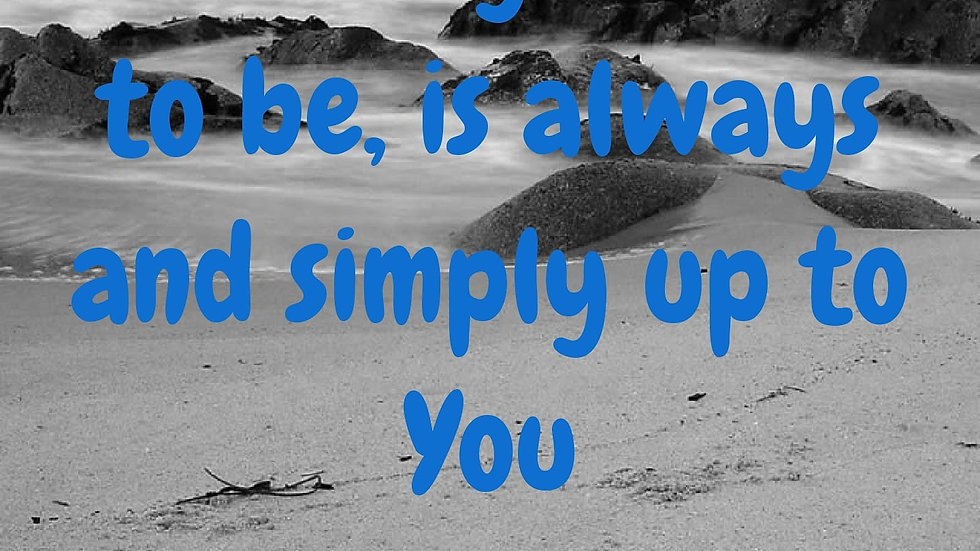 Simply Up to You