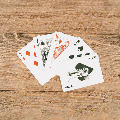52 Hand Drawn Cards