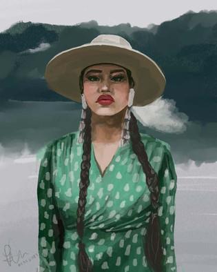 Tia Wood Indigenous Woman