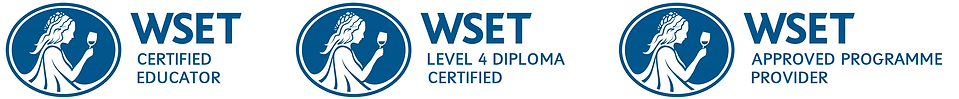 WSET logos and badges