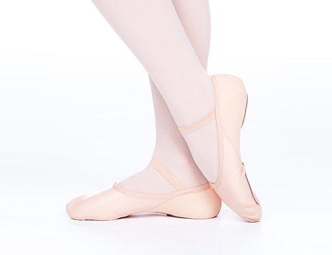 Womens Split Sole Leather Ballet