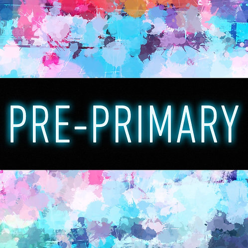 Pre-Primary Online Lessons