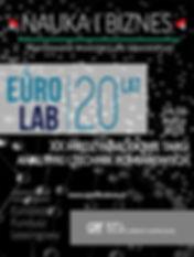 Nauka i biznes - finansowanie inwestycji dla laboratorium. Europejski Fundusz Leasingowy na XX Międzynarodowych Targach Analityki i Technik Pomiarowych EuroLab 2018 Warszawa. Oferujemy leasing, pożyczkę na aparaturę analityczną, aparaturę pomiarową, apartaure laboratoryjną, diagnostyczną, medyczną, badawczą