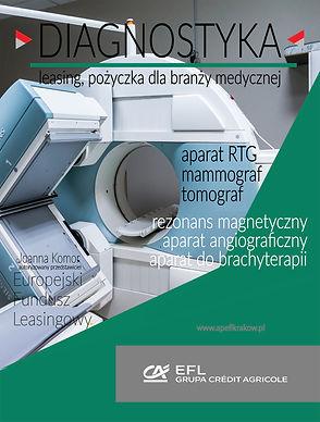 Europejski Fundusz Leasingowy Kraków to najlepsza oferta finansowania wyposażenia i urządzeń dla bramży medycznej. Finansujemy aparaty rentgenowskie RTG, mammografy, tomografy, rezonanse magnetyczne, aparaty angiograficzne, aparaty do brachyterapii, nowoczesne ultrasonografy USG