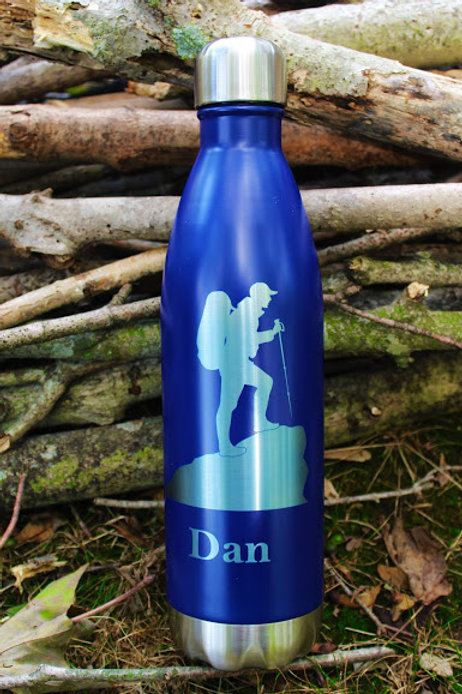 25oz Stainless Steel Water Bottle, Cola Style