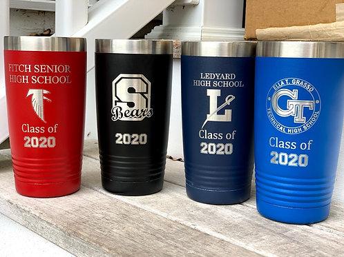 High School Class of 2020 Water Bottle