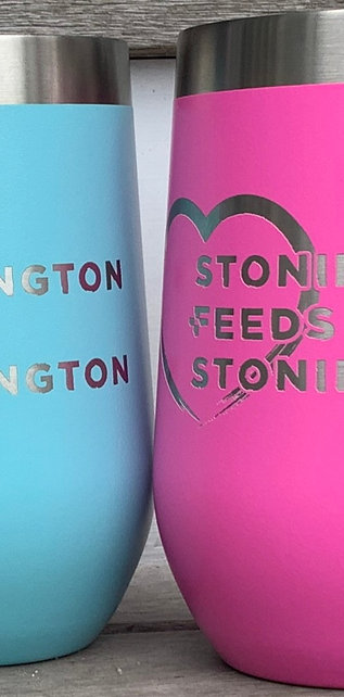 Tall Insulated Wine Mug - Stonington Feeds Stonington