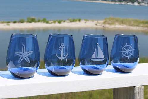 Acrylic Stemless (Set of 4)