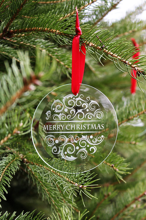 Beveled Glass Ornament