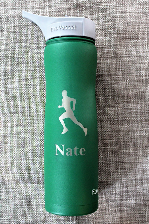 Triple Insulated Water Bottle 25 ounce Green